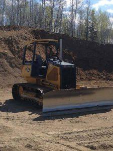 bulldozer up close